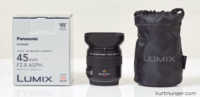 Panasonic Leica DG Macro Elmarit 45mm F/2 8 ASPH review