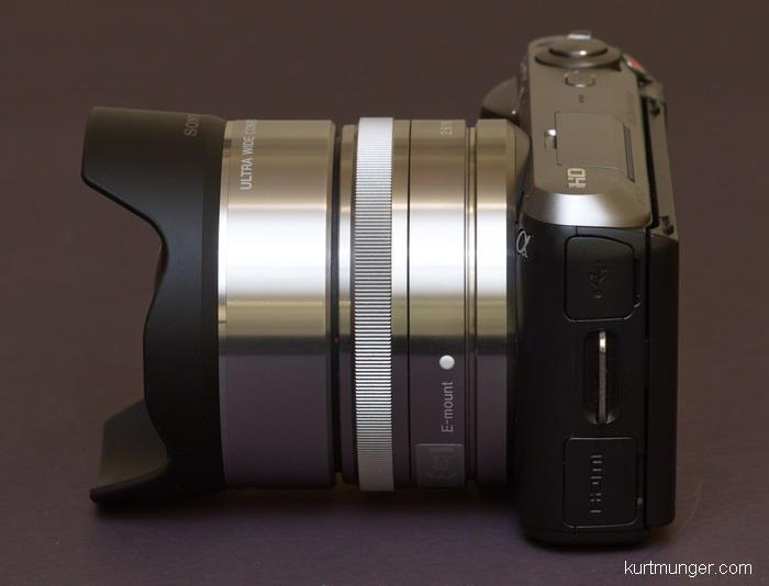 Sony Nex Vcl Ecu1 Ultra Wide Converter 0 75x